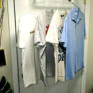 Onia, Scotch&Soda, k.Haring, Lagerfeld Shirts L/XL